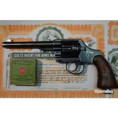 Revolver COLT 1895  ARMY CAL.38lc .