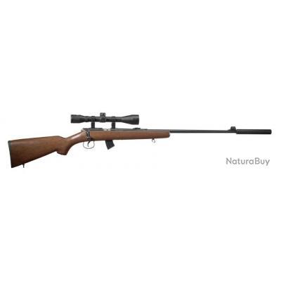 Kit Carabine 22LR Norinco JW 15 Bois + Lunette + silencieux + housse