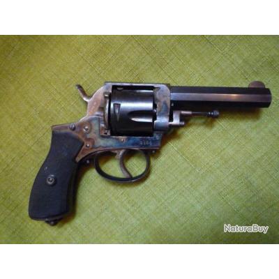 grand pistolet revolver bulldog 380