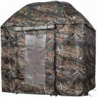 VTK Fishing - Parapluie-tente de Pêche CAMO 250 avec PORTE - Shelter OXFORD - Aluminium !!A saisir!!