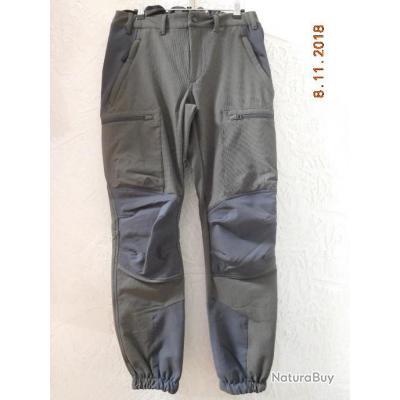Beretta pantalon gris bleue Strech,