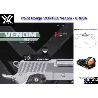 Point Rouge VORTEX Venom - 6 MOA