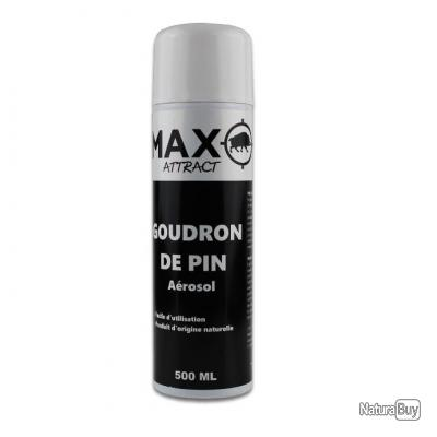 LOT DE 3 BOMBES  ATTRACTIF SANGLIER GOUDRON DE PIN MAX