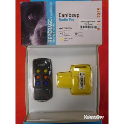 NUM AXES Canibeep radio Pro jaune,