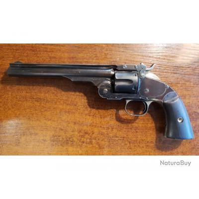 Une pièce d'exception: Très rare, beau revolver Schofield, cal 45, 1st Model, fabrication de1875