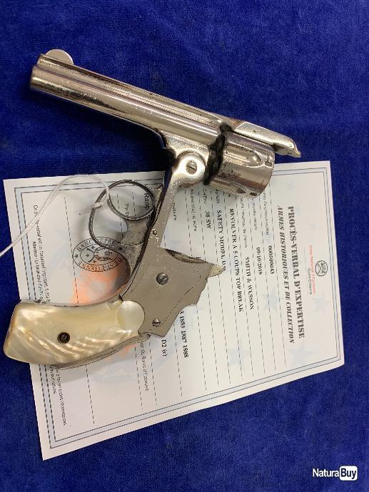 Avis Smith & Wesson Safety Hammerless - Page 4 00001_smith-and-Wesson-hammerless-38