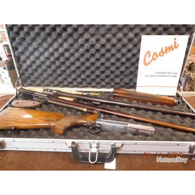 Fusil semi-auto Cosmi Lusso d'occasion 12/70mm, 1 canon de  68 cms, 1 canon de  65cms, TRES BON ETAT