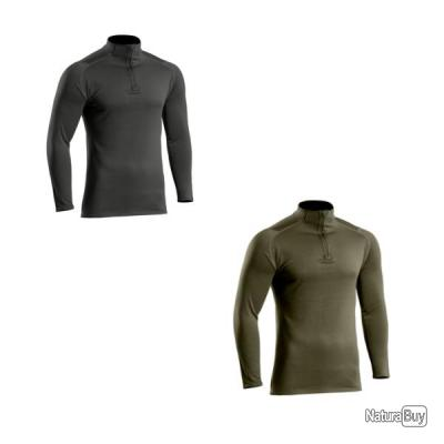 Sweat zippé Thermo Performer niveau 2 noir TOE OD Green