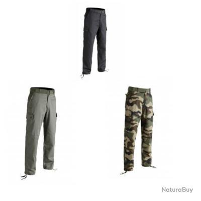 Pantalon F4 treillis militaire Noir