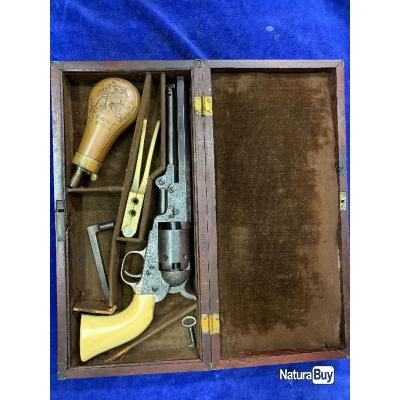 colt pocket 1849 gravé d usine