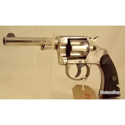 .32 Colt New Police Revolver Canon 4 pouces 6 coups  -  pas Smith & Wesson, Webley
