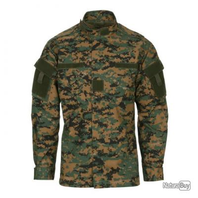 VESTE STYLE NYCO  - COULEUR  CAMOUFLAGE  DIGITAL  - TAILLE XS = 40  - 125436