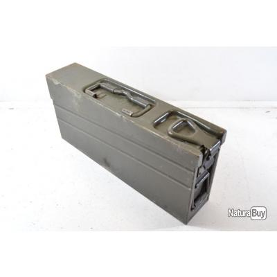 Caisse à munitions Allemande, idéal transport stockage balles Mauser 98K, TIR TAR Reconstitution (H)