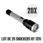 Lot de 20 shockers lampes pro 10 000 000 de volts 230 lumens HY1315