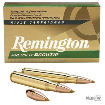 CARTOUCHES REMINGTON 300 WIN MAG 180 GRS ACCUTIP BOAT TAIL- OFFRE SPECIALE !!!