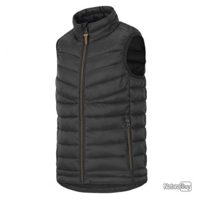 GILET MATELASSE  STAGUNT TEVA LIGHT UNI  marron foncé
