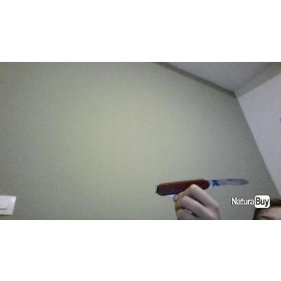petit couteau rouge pliant
