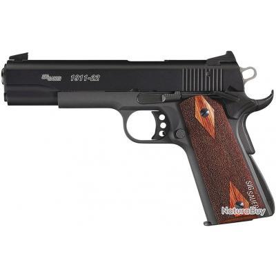Pistolet Sig Sauer 1911 TARGET + 500 Munitions 22LR Remington