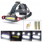 petites annonces chasse pêche : Lampe frontale LED rechargeable usb 1300 lumens