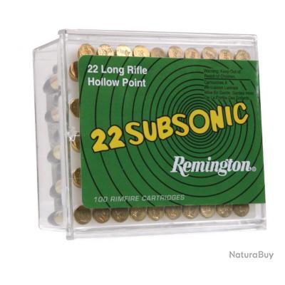 C/.22 LR SUBSONIQUE CARTOUCHES REMINGTON