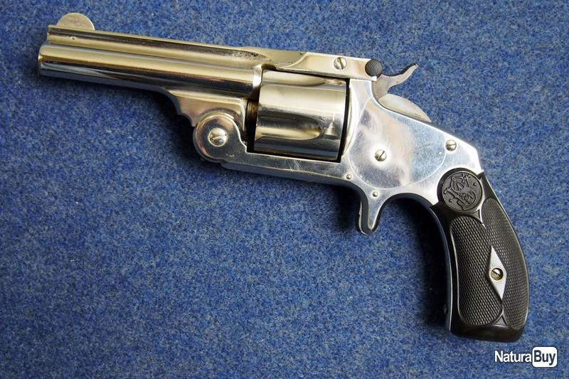 Smith & Wesson Safety Hammerless 3rd Model 00001_EXCEPTIONNEL-S-W-SIMPLE-ACTION-SECOND-MODEL-CAL-38-S-W