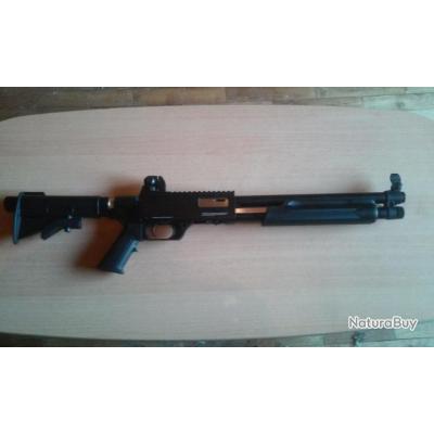 fusil à pompe de défense APS RAM 68 (arme à balles caoutchouc cat D2)