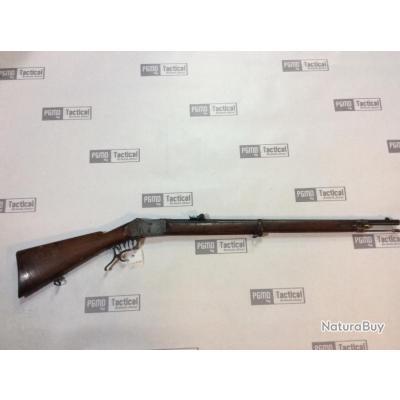 Carabine de tir suisse avec mécanique martini henry Cal;10.5mm