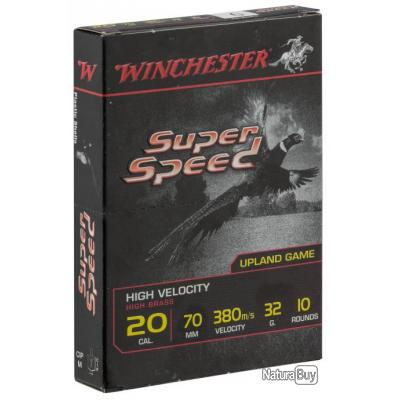 """( SPEED, culot de 16, N°4)Cartouches Winchester Super Speed - Cal. 20/70"""