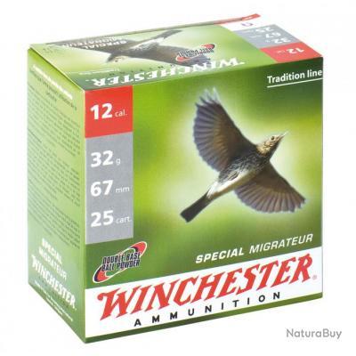 Cartouches Winchester Spécial Migrateur - Cal. 12/67