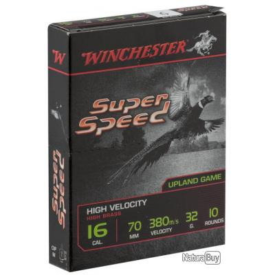 SPEED. culot de 16. Cartouches Winchester Super Speed Cal. 16 70