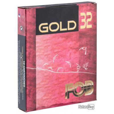 FOB GOLD 32 N° Cartouches Fob Gold 32 Cal 16 70
