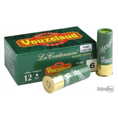 ( VOUZELAUD - CENTENAIRE TUBE CARTON - P.6)Cartouches Vouzelaud - La Centenaire tube carton - Cal. 1