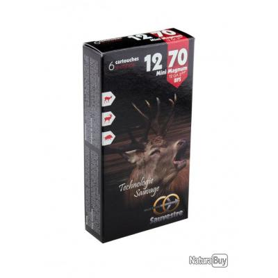 """Cartouche Sauvestre mini Magnum - Cal. 12/70"""