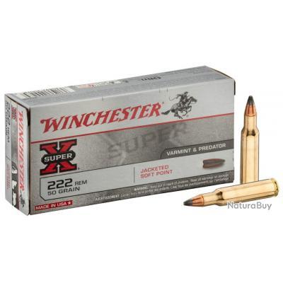 Munition grande chasse Winchester Cal. 222 REM