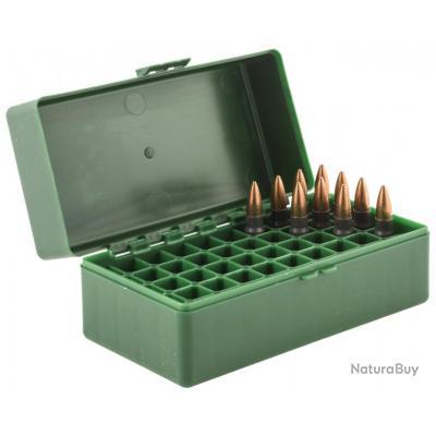 """Boîte de rangement 50 munitions cal. 7.62 x 39"""