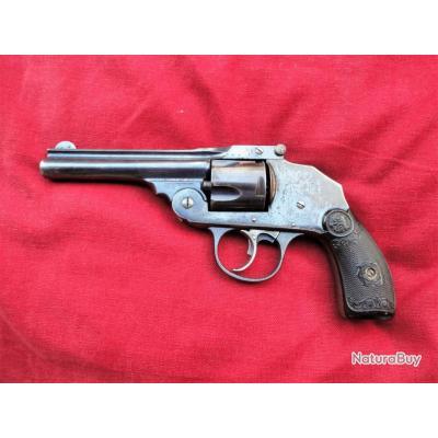 revolver Iver Johnson 38 SW bronzé canon 4 pouces