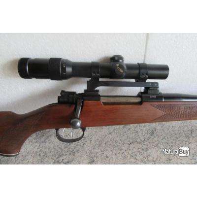 vds carabine mauser M98 cal 7x64 tiré 20 cartouches + lunette docter 1-4x24 montage pivotant