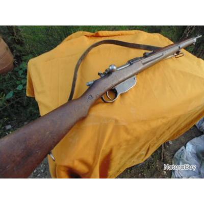 mousqueton cavalerie  Steyr Mannlicher M95 ou 93 8x50R cat D  long1.1mètre fusil AUtriche Autrichien