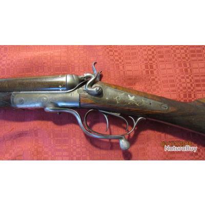 Jolie petit fusil juxtaposé calibre 24.