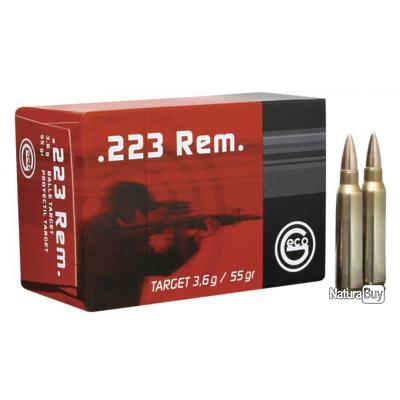 50 Munitions Geco 223 Target 55Grs