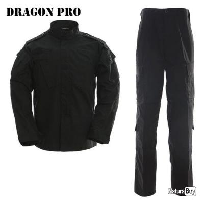 DRAGONPRO - AU001 ACU Uniform Set Black XL