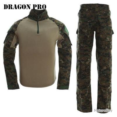 DRAGONPRO - G3CU001 Gen3 Combat Uniform Set Woodland Digital XL
