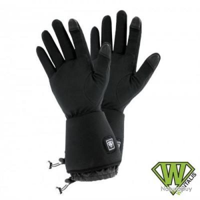 e25a9349f25d2 Sous gants chauffants Sancy, Wantalis L-XL Noir - Gants Outdoor ...