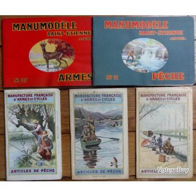 catalogues manumodèle armes pêche catalogues pêche 1903 1905 1906 manufrance
