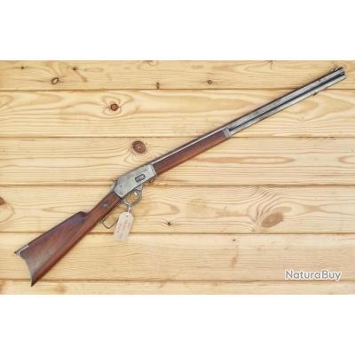 6056a1bc049fd4 Ancienne Marlin M.1889 Carabine cal .38 40 Levier Sous Gard - pas ...