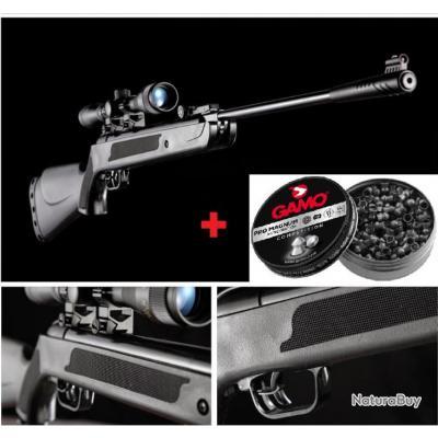PROMO TIR!! Carabine à plombs ARTEMIS LB600 CAL.4.5 +Lunette Veoptik 4x20 + 250 Plombs + 5 Cibles