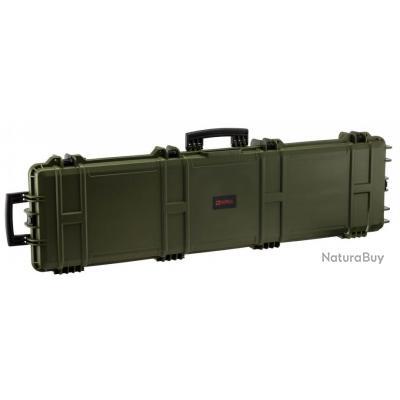 Mallette XL Waterproof OD Green 137 x 39 x 15 cm mousse pré-découpée - Nuprol