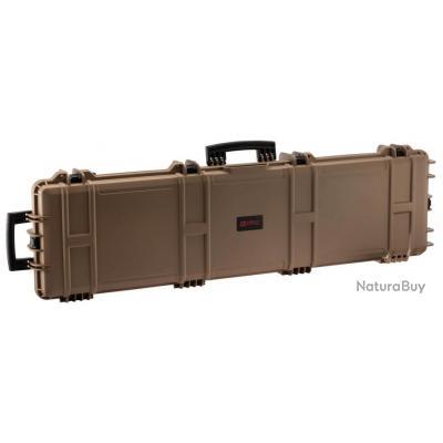 Mallette XL Waterproof Tan 137 x 39 x 15 cm mousse vague - Nuprol