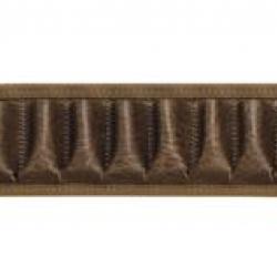 c587cd30257f Cartouchière Cal.12)Cartouchière vinyle aspect cuir marron - Country  Sellerie