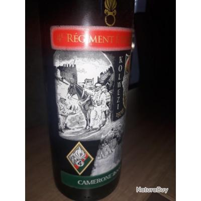 Légion étrangère bouteille du vin Camerone 2008